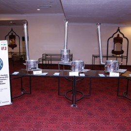 SAARC - I, SAARC - II and SAARC - III ICS on display at HVDC Workshop, Lahore