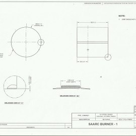SAARC Burner - I, Pipe Chimney Design