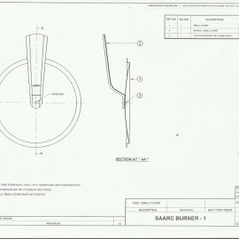SAARC Burner - I, Assembly Small Cover