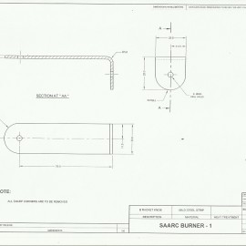 SAARC Burner Bracket Knob Design